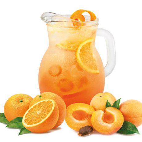 Абрикосово-апельсиновый лимонад