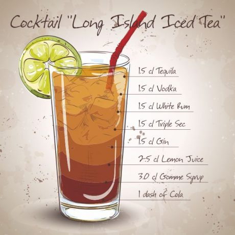 Long Island Iced Tea (Лонг Айленд Айс Ти)