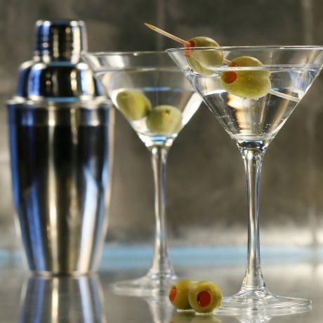 Сухой мартини — Dry martini