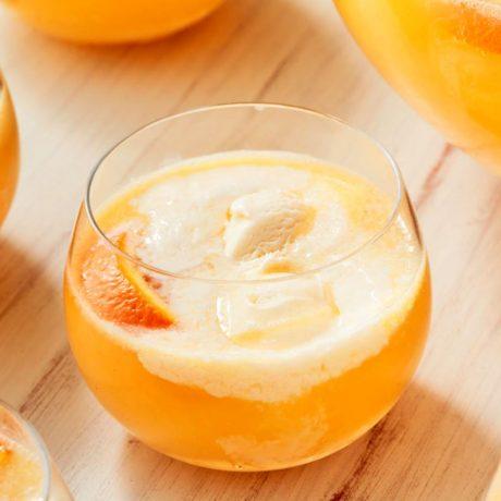 Апельсиновый пунш с мороженным (Creamsicle Punch)