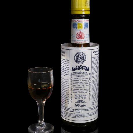 Ангостура (Angostura) — самая известная настойка.
