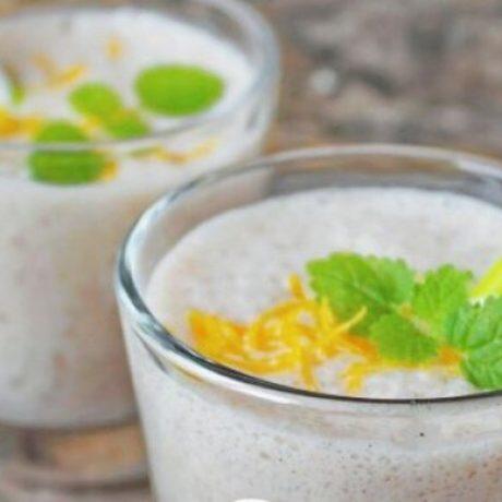 Имбирно-мятный коктейль для похудения